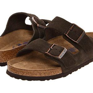 Birkenstock Arizona Suede Leather